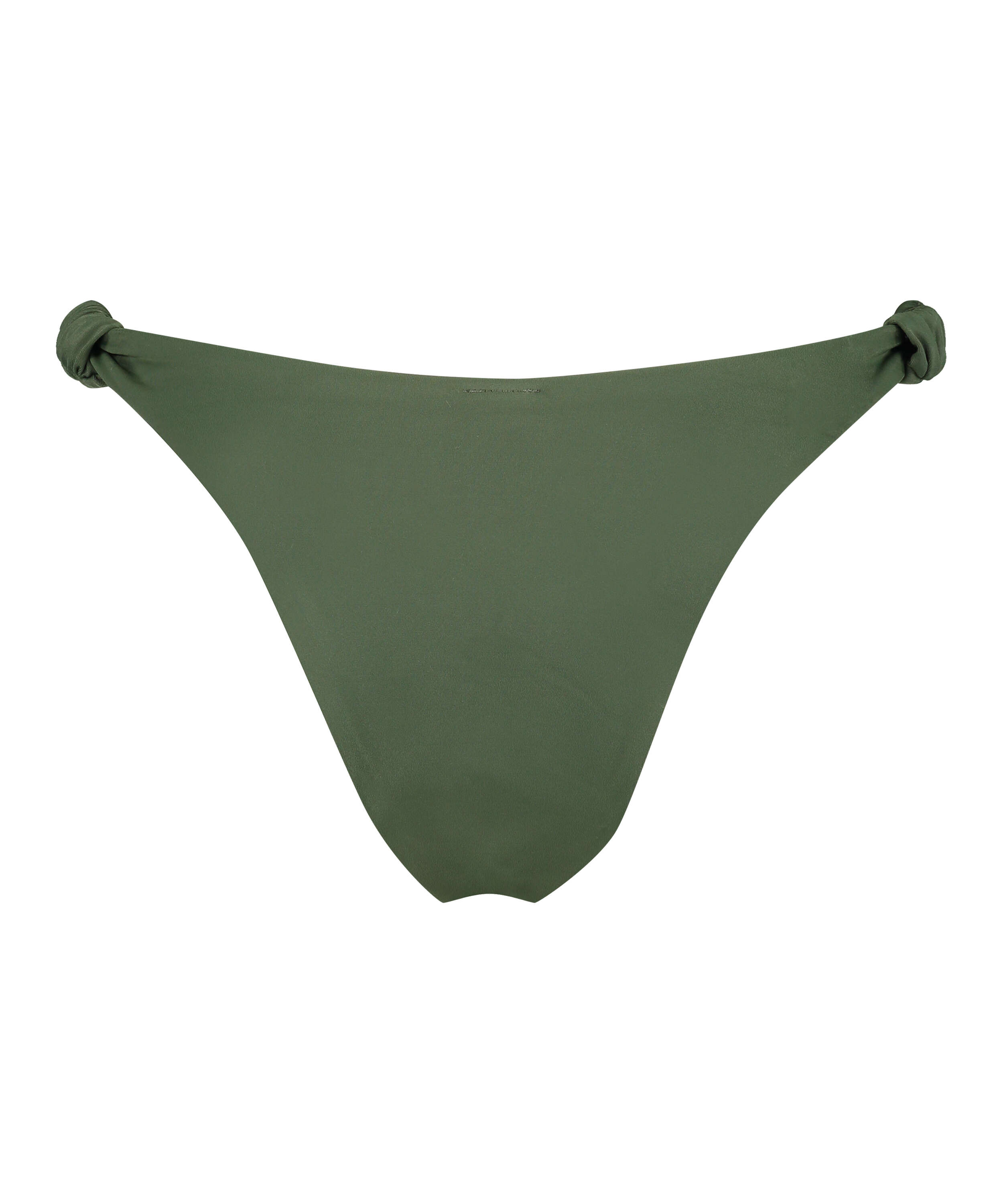 Luxe high-cut bikini bottoms, Green, main