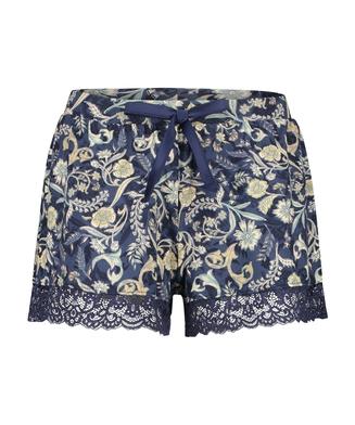 Jersey Shorts, Blue