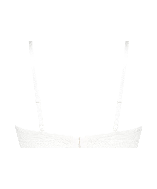 Bessie padded maximizer underwired bra, White, main