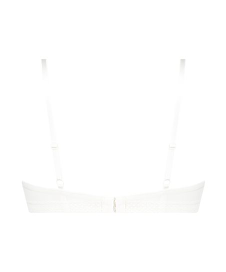Bessie padded maximizer underwired bra, White