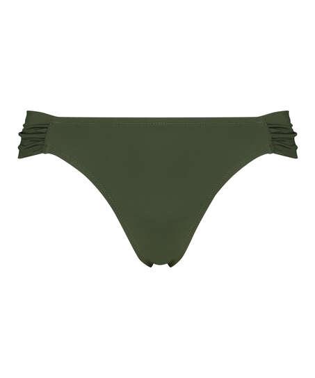 Luxe Rio bikini shorts, Green