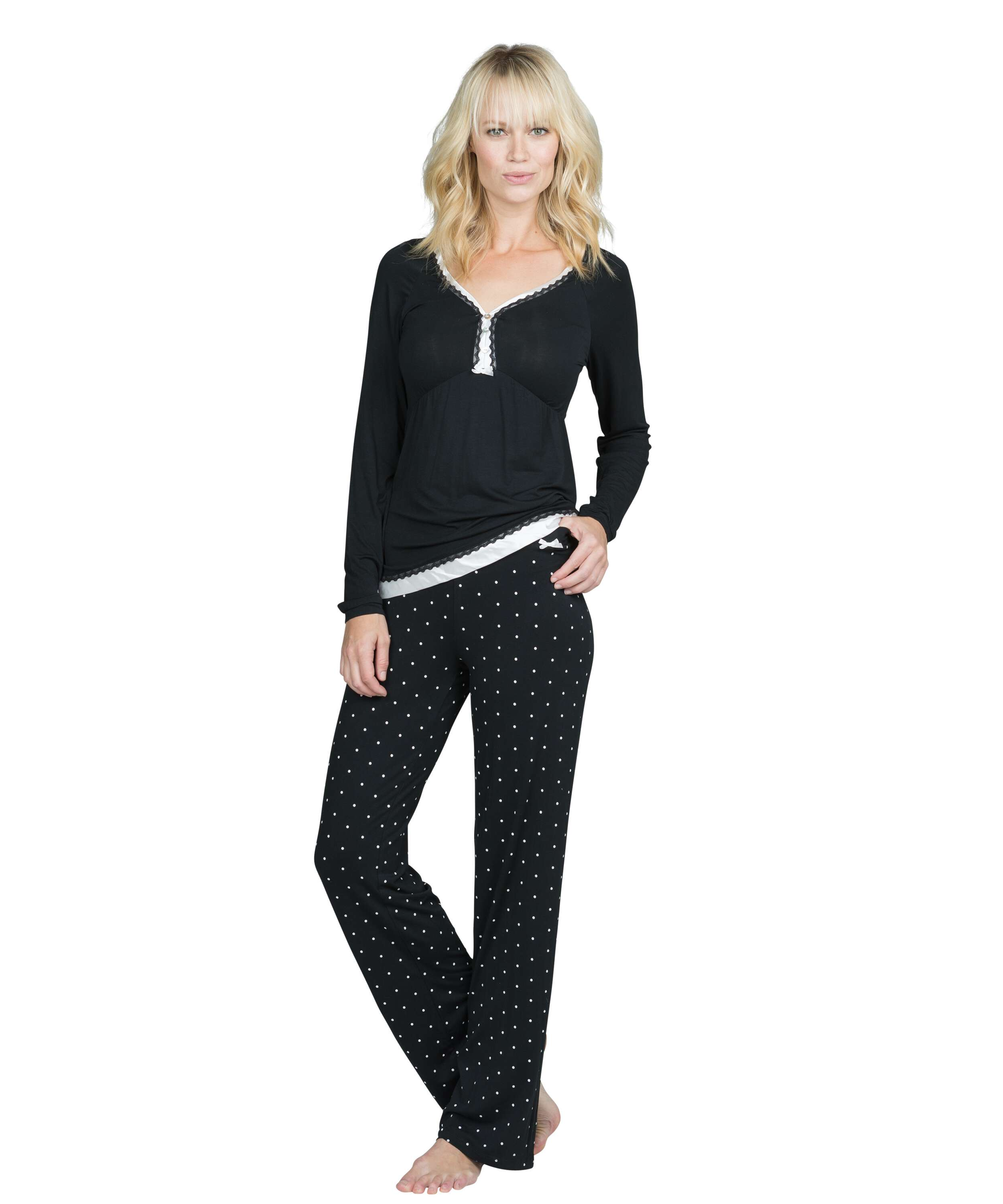 Pyjama set Pam, Black, main