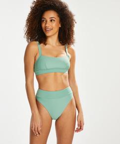 Sienna high bikini bottoms, Green