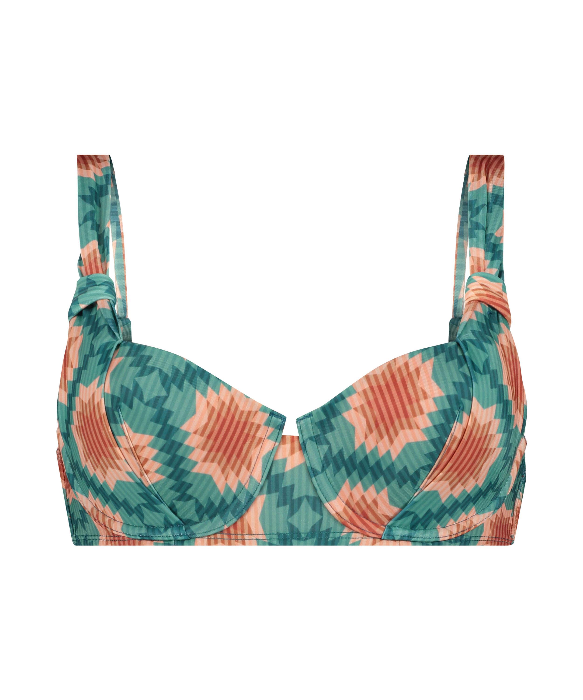 Paramaribo padded underwired bikini top I AM Danielle, White, main