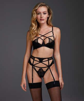 Anna suspenders, Black