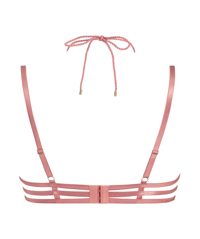 Alabama non-padded underwired bra, Pink, main