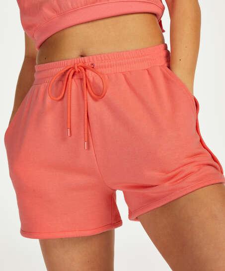 Snuggle Me Shorts, Pink