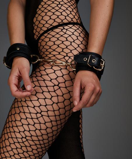 Snake handcuffs , Black