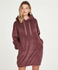 Snuggle Fleece Dress, Pink