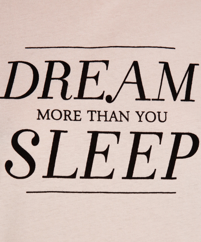 Dream Short-Sleeved Nightshirt, Pink, main