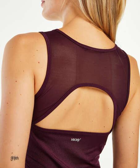 HKMX Sport slim fit tank top, Purple