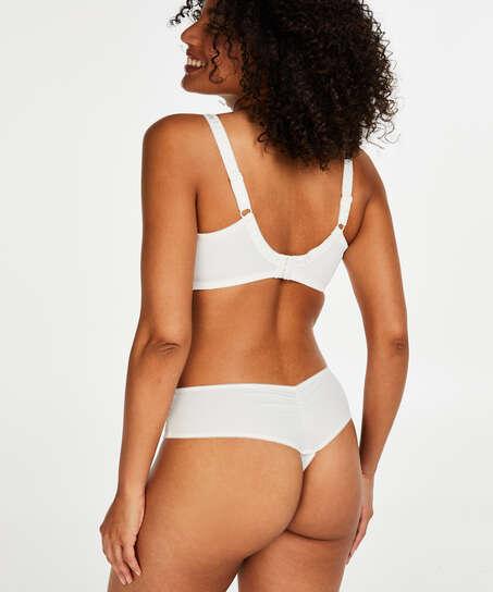 Diva thong short, White