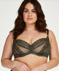 Rabella non-padded underwired bra I AM Danielle, Green