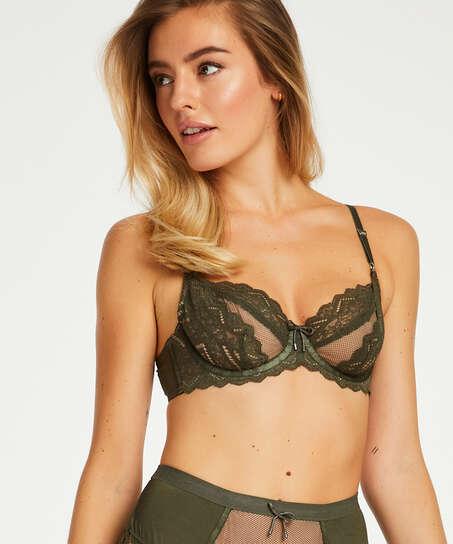 Rabella non-padded underwired bra I AM Danielle, Green