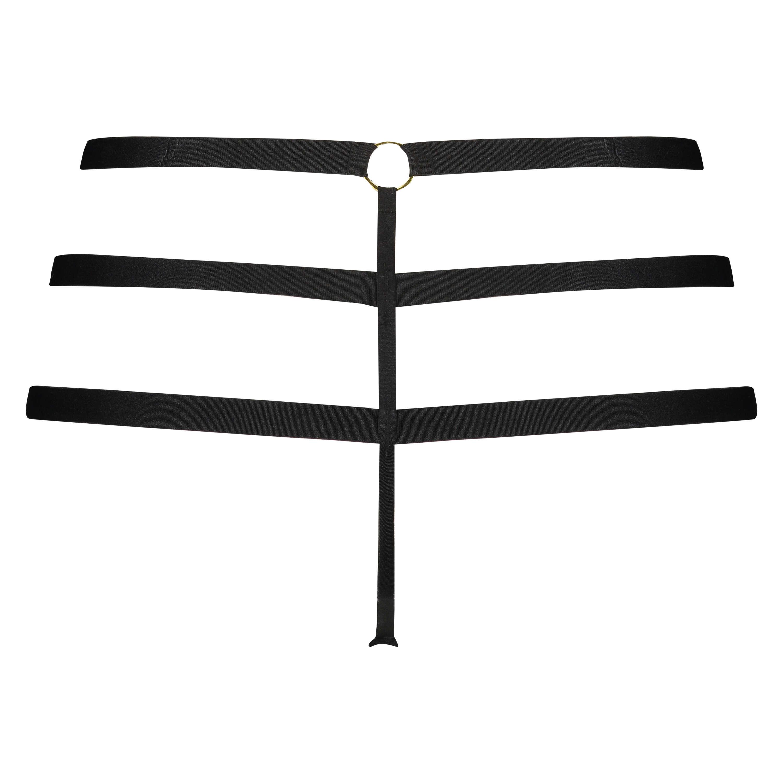 Shadow Thong, Black, main
