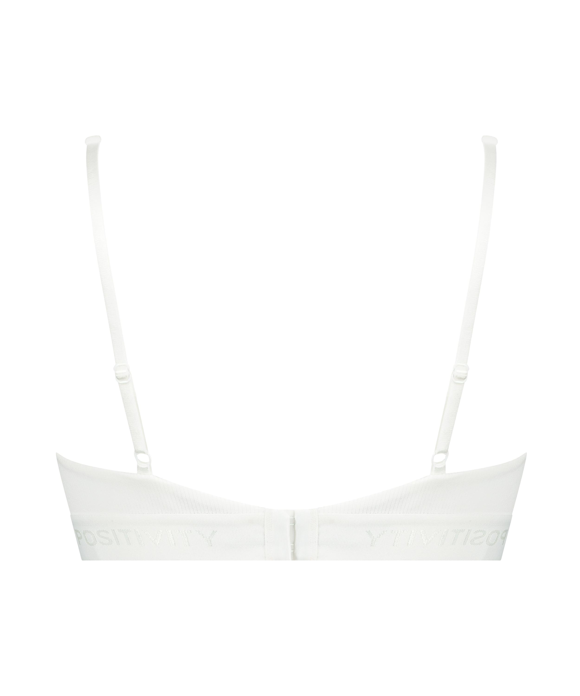 Bralette High apex Cutie, White, main