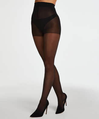 2 pack Tights 30 Denier, Black