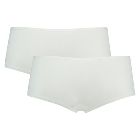 2 Cotton Boxers Kim, White