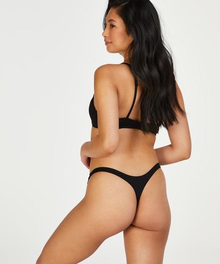 Secret Lace Thong, Black