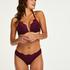 Padded underwired push-up bra Melissa, Purple