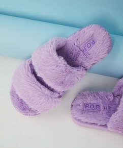Snuggle Me Slippers, Blue