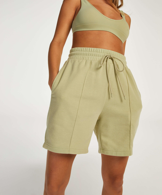 Snuggle Me Bermuda Shorts, Green, main