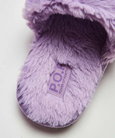Snuggle Me Slippers, Blue