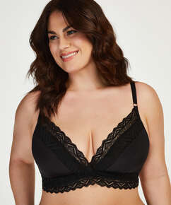 Rabella non-padded bra I AM Danielle, Black