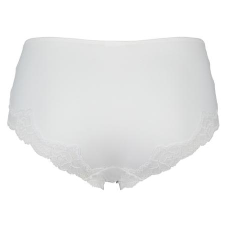Secret Lace Brief, White