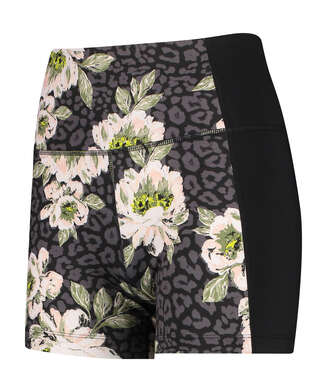 HKMX high waisted shorts Bloom, Black