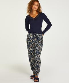 Petite Jersey Pyjama Pants, Blue