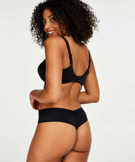 Diva thong short, Black
