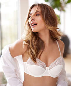 Sophie Non-Padded Underwired Bra, White