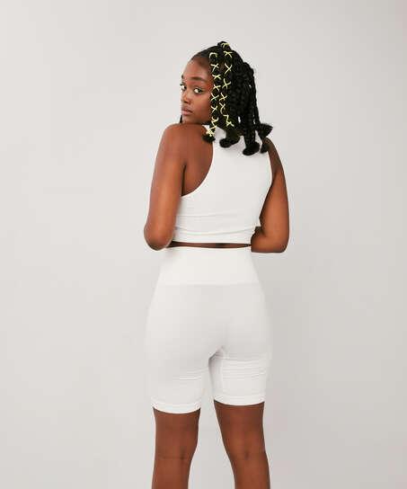 Bae Cycling Shorts, White