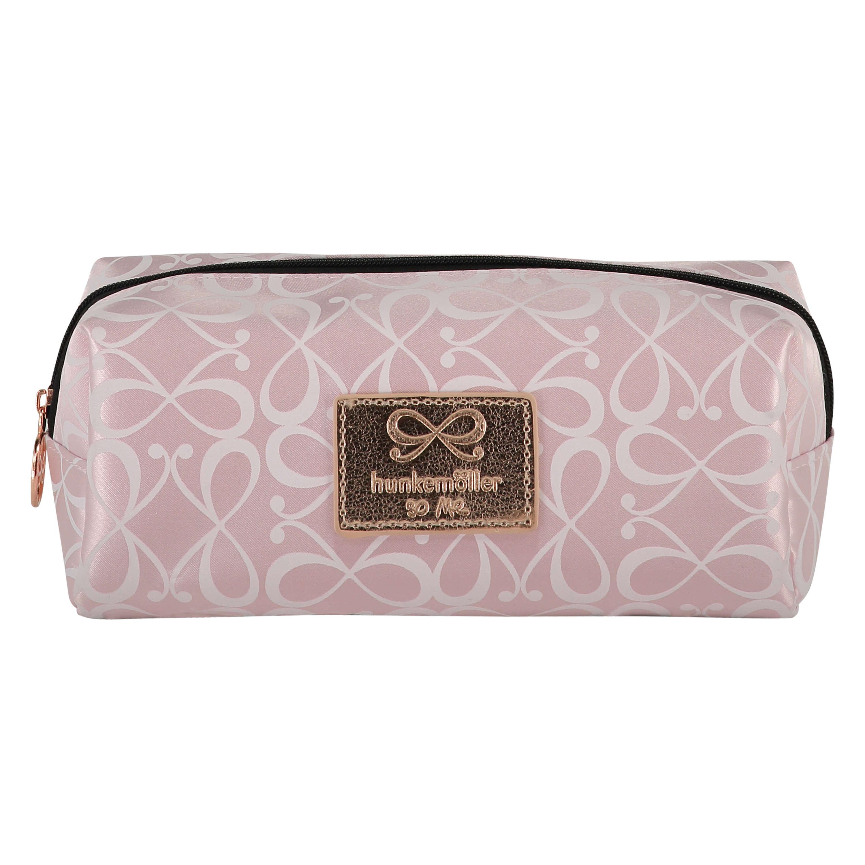 Bow Make Up Bag, Pink, main