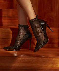 1 pair of Mesh socks Rebecca Mir, Black