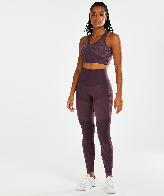 HKMX The Motion High Waisted Leggings , Purple, main
