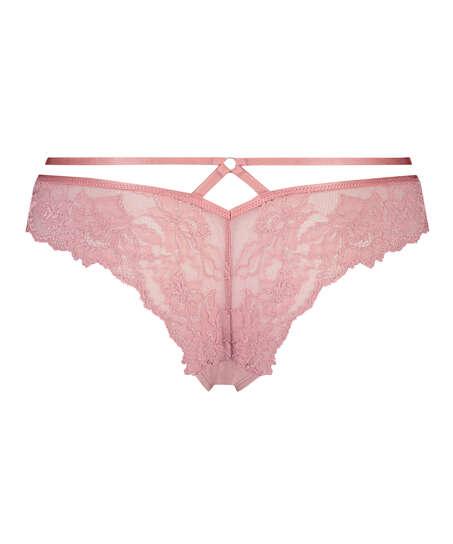 Sosha Brazilian with open crotch, Pink