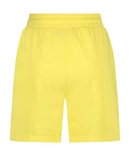 Snuggle Me Bermuda Shorts, Yellow
