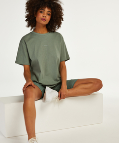 Biker Short Pyjama Set, Green