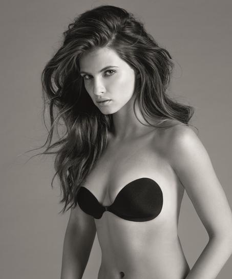 Adhesive bra, Black