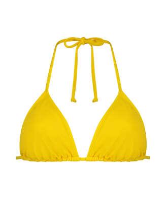 Napa triangle bikini top, Yellow
