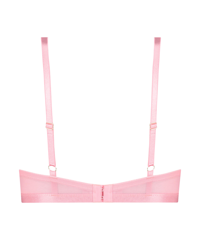 Malika Padded Underwired push-up Bra, Pink, main