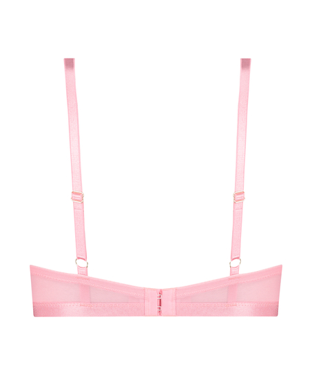 Malika Padded Underwired push-up Bra, Pink