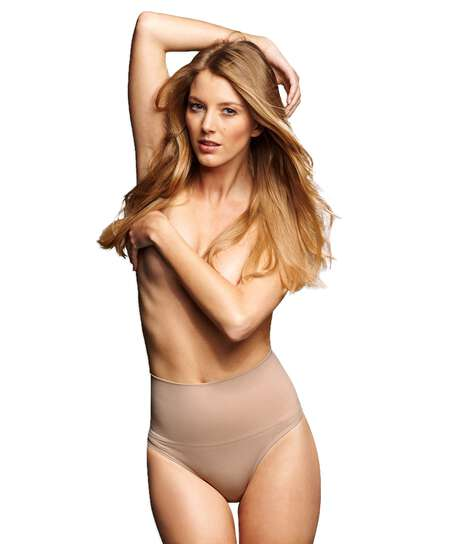 Firming high knickers - Level 2, Beige